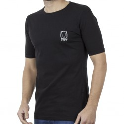 T-SHIRT COVER DENIM LUPO Y204 (ΜΑΥΡΟ)